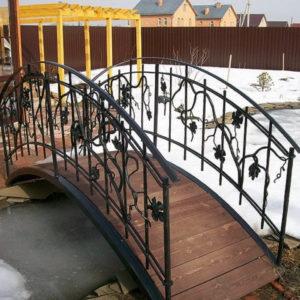 Кованые мосты Авторский кованый мостик Арт. МО-002 Norkovka