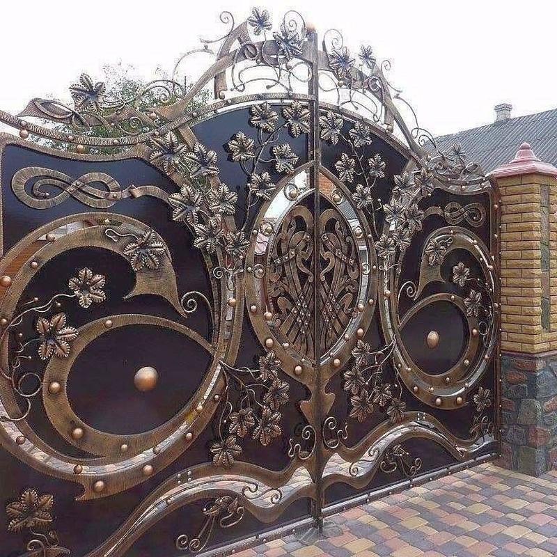 Кованые ворота Кованые ворота Остин Арт. В-011 Norkovka