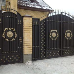 Кованые ворота Кованые ворота Блэйк Арт. В-006 Norkovka